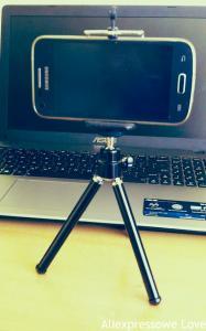 Tripod do telefonu lub kamery aliexpress alilove aliholik everythingaliex chińskie cuda cokupiłemwchinach telchina xiaomi dron podatki podatek cło vat podróbka air max