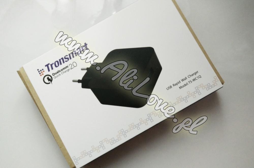 TRONSMART - ts-wc1q - Ładowarka ścienna USB z Qualcomm Quick Charge alilove aliexpres banggood gearbest aliholik everythingaliex co.kupilem.w.chinach wykop telchina torg xiaomi dron urząd celny podatek podróbki