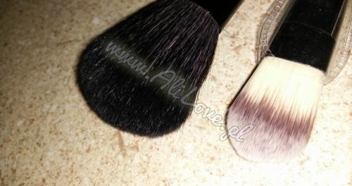 Dream Maker zestaw pędzki 7 sztuk naturalne włosie etui skórzane | www.alilove.pl