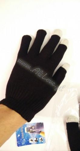 Rękawiczki do telefonu smartfona tabletu działający dotyk | www.alilove.pl