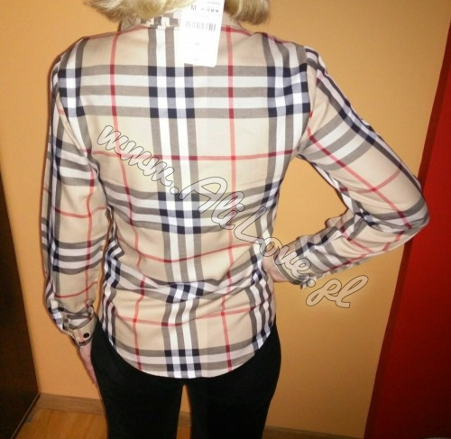 Koszula w kratę w stylu Burberry | www.alilove.pl