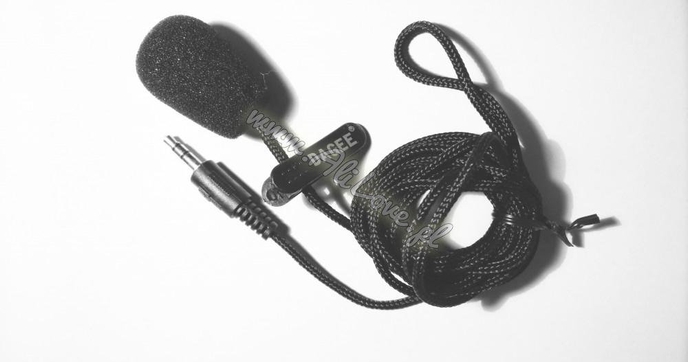 Mikrofon pchełka krawatowy mini 3,5mm | www.alilove.pl