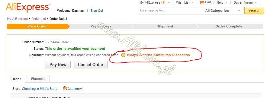 Jak zapłacić za zakup z aplikacji przy pomocy przelewy24 na AliExpress