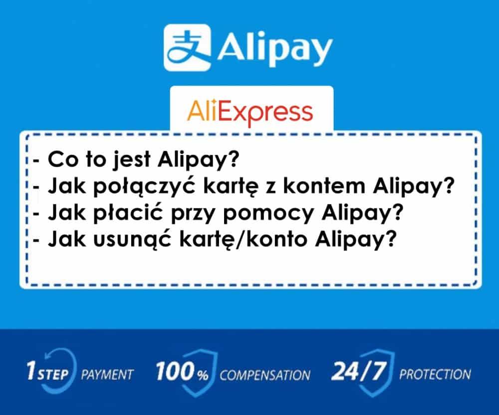 Alipay na Aliexpress jak usunąć kartę lub dodać | ALILOVE.PL \ ALIEXPRESS PL POLSKA