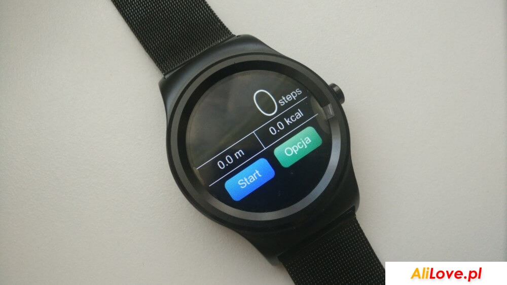 SMA-09 Dual R Smartwatch alilove Aliexpress Gearbest Banggood Polska Pl Recenzja Test