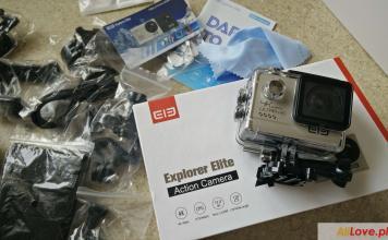 Elephone Elecam Elite Explorer kamera sportowa