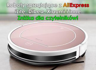 Roboty sprzątające iLife z AliExpress