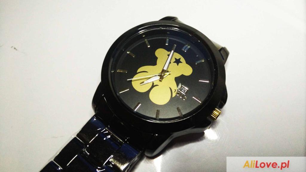 Czarno-złoty zegarek Tous AliExpress