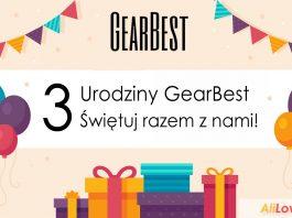 GearBest: 3 rocznica powstania portalu KONKURSY