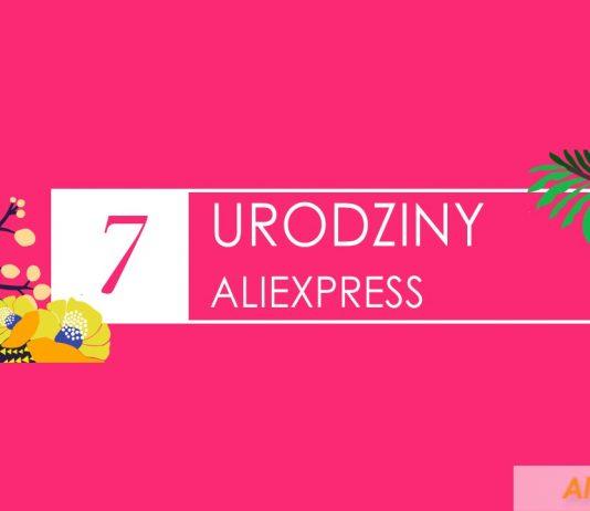 7 urodziny aliexpress