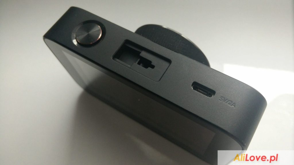 Xiaomi mijia DVR wideorejestrator samochodowy kamera recenzja