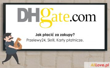 jak płacić za zakupy na DHgate