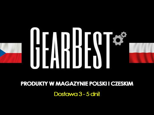 Magazyn Gearbest w Polsce i Czechach