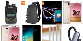 [27.03] Xiaomi Redmi Note 4, WiFi, Słuchawki, Mi Note 2 i inne kupony gearbest dla polaków