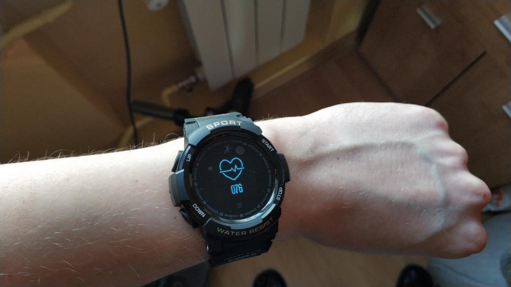 Zegarek NO.1 F6 smartwatch no1 f6 aliexpress gearbest banggood zakupy z chin (2)