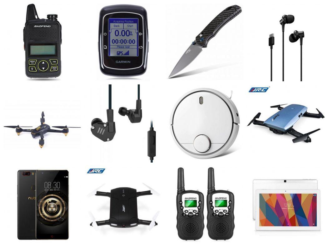 Kupony Gearbest dla Polaków [ 12.04 ] Nubia Z17, Xiaomi Robot, Słuchawki, Drony i inne
