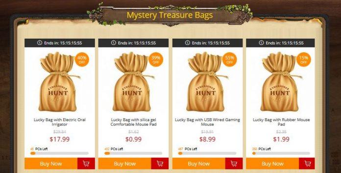 gearbest tresure hunt 2018 event co to jest poradnik promocja 4 mystery tresure bag mystery lucky bag