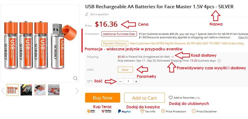 jak kupować na gearbest jak używać kuponu jak robić zakupy 2