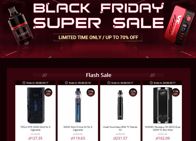 black friday gearbest presale o co chodzi kupony epapierosy