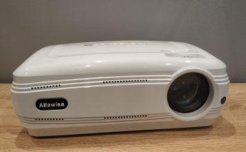 Alfawise X3200 biały basic projektor projectro review recenzja test