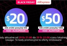 kod rabatowy aliexpress black friday cyber monday dla nowych