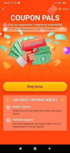 aliexpress coupon pals kuponowi koledzy jak grać gra kupony kupon