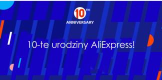 10-te urodziny aliexpress kupony promocje gry