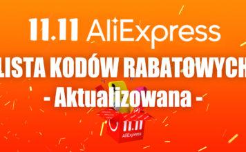11.11 aliexpress 2020 lista kuponów kodów rabatowych promocji alilove