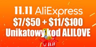 11.11.2020 aliexpress kod rabatowy alilove
