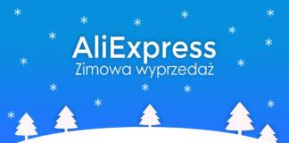 AliExpress zimowa wyprzedaż winter sale 2021