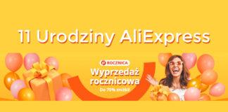 11 urodziny AliExpress